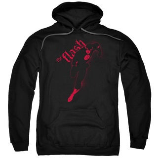 JLA/Flash Darkness Adult Pull-Over Hoodie in Black