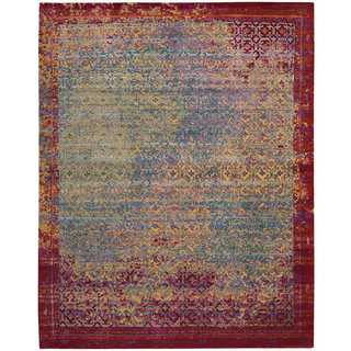 Nourison Silken Grandeur Multicolor Rug (8'6 x 11'6)