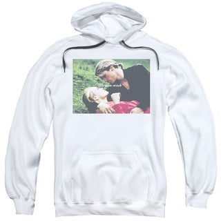 Pb/As You Wish Adult Pull-Over Hoodie in White