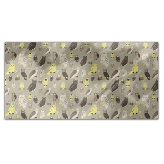 Wise Owls Rectangle Tablecloth