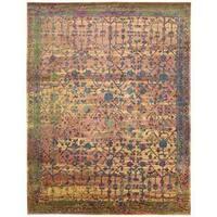 Nourison Silken Grandeur Multicolor Rug (7'9 x 9'9)