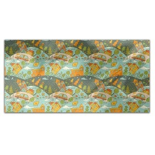 Weekend Journey Rectangle Tablecloth