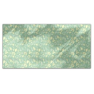 Variety Of Leaves Rectangle Tablecloth