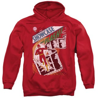 JLA/Showcase #4 Cover Adult Pull-Over Hoodie in Red