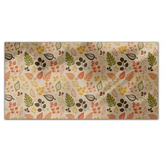 To Decide For Leaves Rectangle Tablecloth