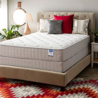 Spring Air Value Collection Tamarisk Twin-size Plush Mattress Set