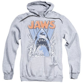 Jaws/Comic Splash Adult Pull-Over Hoodie in Athletic Heather
