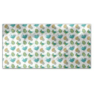 Sweet Easter Eggs and birds Rectangle Tablecloth