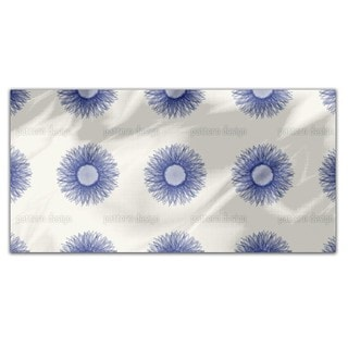 Sunflower Blue Rectangle Tablecloth