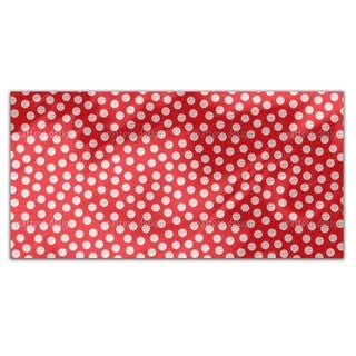 Striped Polkadots Rectangle Tablecloth