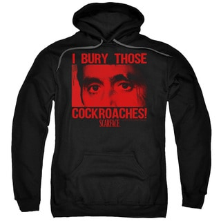 Scarface/Cockroaches Adult Pull-Over Hoodie in Black