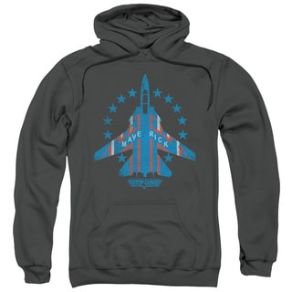 Top Gun/Maverick Adult Pull-Over Hoodie in Charcoal