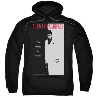 Scarface/Classic Adult Pull-Over Hoodie in Black