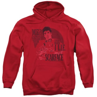 Scarface/Truth Adult Pull-Over Hoodie in Red