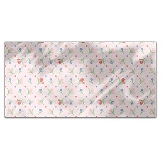 Spring Flowers Rectangle Tablecloth