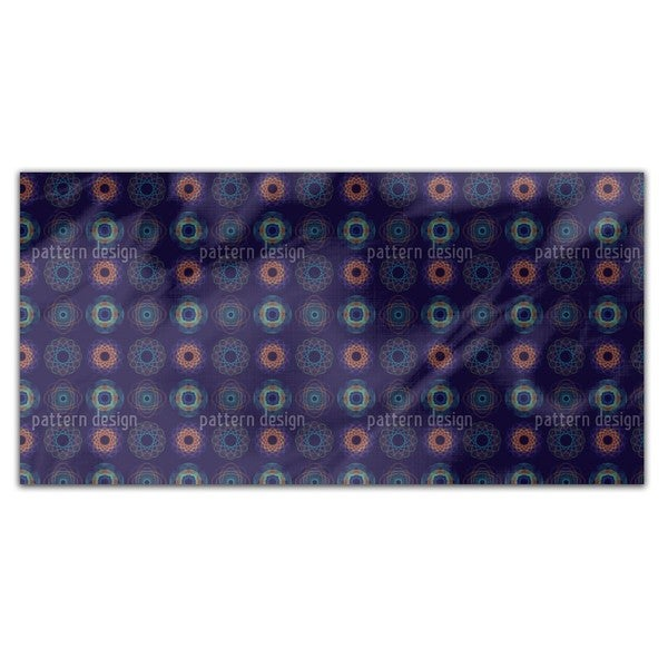 Spirograph Complex Rectangle Tablecloth