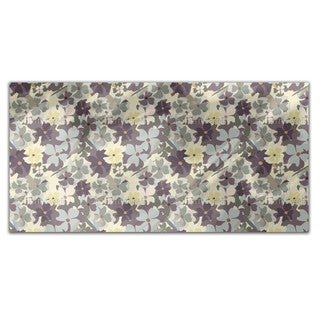 She Dreamed In The Flower Garden Rectangle Tablecloth
