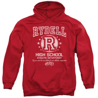 Grease/Rydell High Adult Pull-Over Hoodie in Red