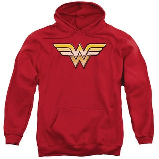 JLA/Golden Adult Pull-Over Hoodie in Red