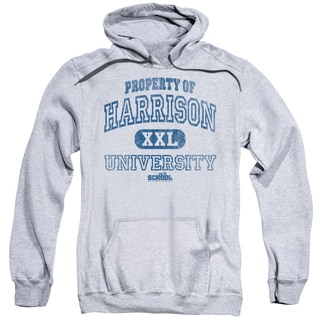 Old School/Property Of Harrison Adult Pull-Over Hoodie in Athletic Heather