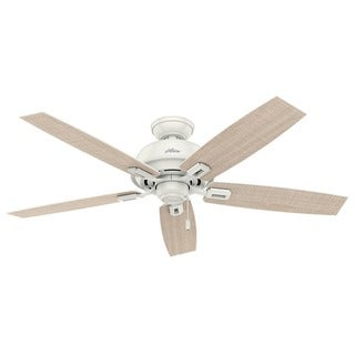 Hunter Donegan Collection 52-inch Fresh White Fan with 5 Reversible Blades