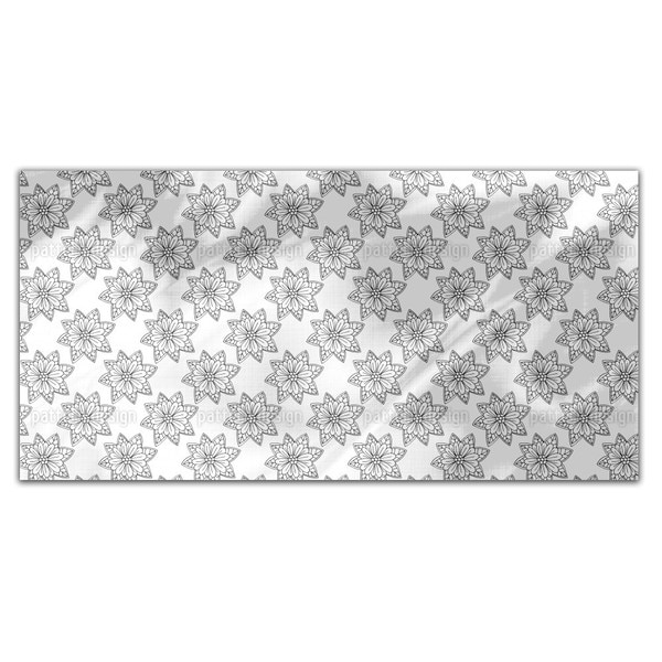 Flowers From Above Rectangle Tablecloth