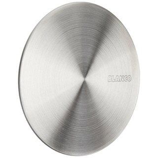 Blanco CapFlow Stainless Steel Drain Cover