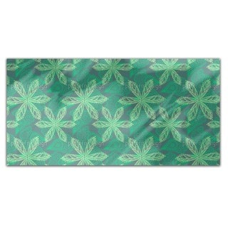 Floral Oriental Rectangle Tablecloth