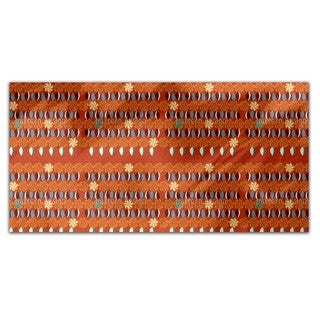 Floral Eight Times Table Rectangle Tablecloth