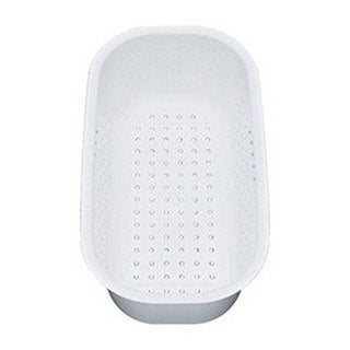 Blanco White Colander for WAVE and SUPREME Drop-in Models (Option: White)