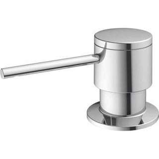 Blanco SONOMA Stainless Steel 2.5-inch x 1.38-inch x 1.75-inch Indoor Soap Dispenser