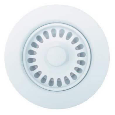Blanco White Metal 3.5-inch Round Indoor Sink Waste Flange, 441096