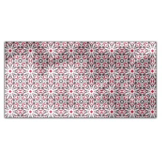 Fire Star Rectangle Tablecloth