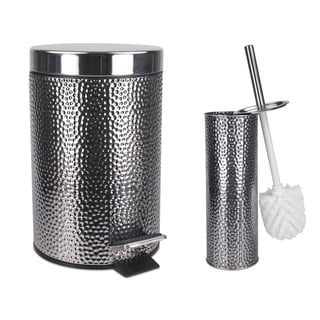Link to Home Basics Deluxe Hammered Stainless Steel Bathroom Accessories Similar Items in Cooking Essentials