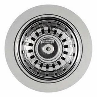 Blanco Silgranit II 4-1/2-In Fixed Post Sink Strainer - 3.5 x 3.5