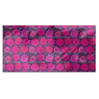 Feathers And Roses Rectangle Tablecloth