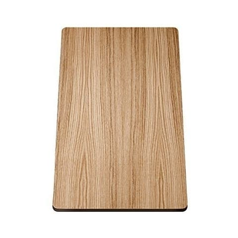 Blanco 17.43-in L x 11.375-in W Wood Cutting Board in Ash