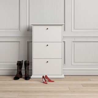 Tvilum Sonoma 3-drawer Shoe Cabinet