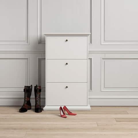 Porch & Den Virginia 3-drawer Shoe Cabinet
