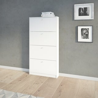 Tvilum Bright 4-drawer Shoe Cabinet