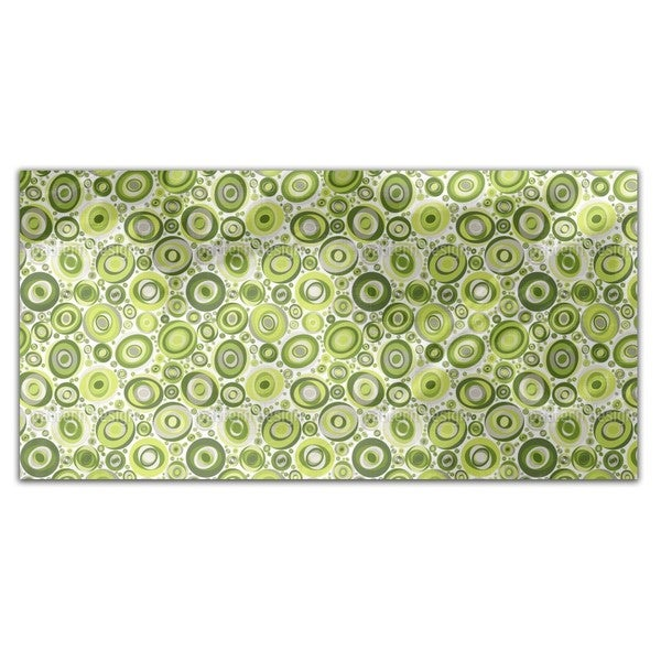 Ellipso Verde Rectangle Tablecloth