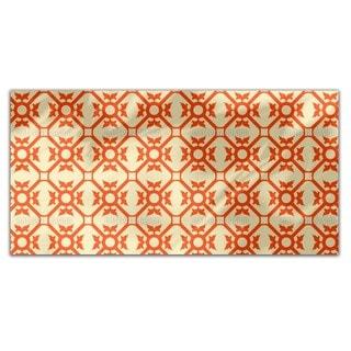 Elegant Flourish Rectangle Tablecloth