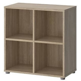 Tvilum Stewart 4-shelf Cube Bookcase