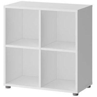 Tvilum Stewart 4-shelf Cube Bookcase