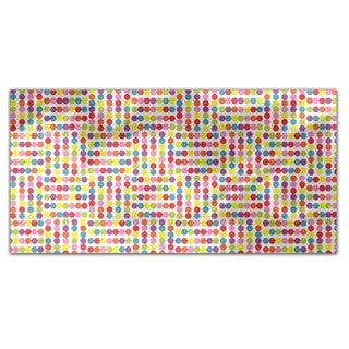 Dotted Labyrinth Rectangle Tablecloth
