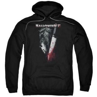 Halloween Ii/Cold Gaze Adult Pull-Over Hoodie in Black