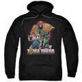 Judge Dredd/Law Adult Pull-Over Hoodie in Black