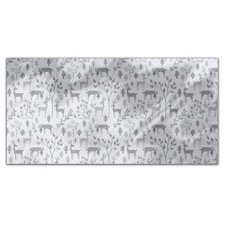 Deer in Winter Forest Rectangle Tablecloth