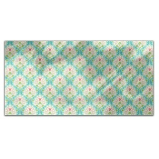 Damask Of Summer Rectangle Tablecloth