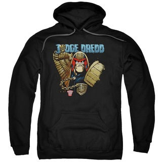 Judge Dredd/Smile Scumbag Adult Pull-Over Hoodie in Black